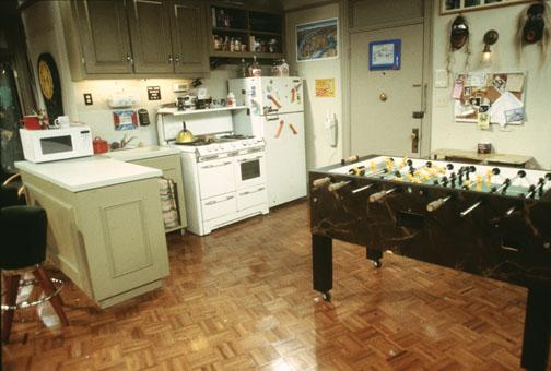[Friends]Las casas de Joey, Monica, Ross, Phoebe+yapa