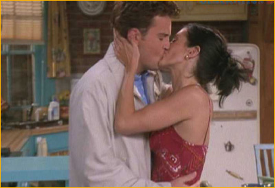 Beso en Friends