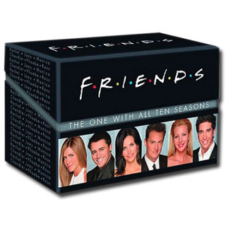 Friends en DVD