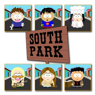Friends y South Park