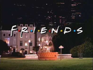 El logo de Friends