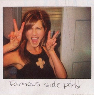 Polaroids de Jennifer Aniston