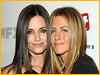 Courteney Cox y Jennifer Aniston