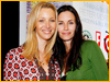 Lisa Kudrow y Courteney Cox